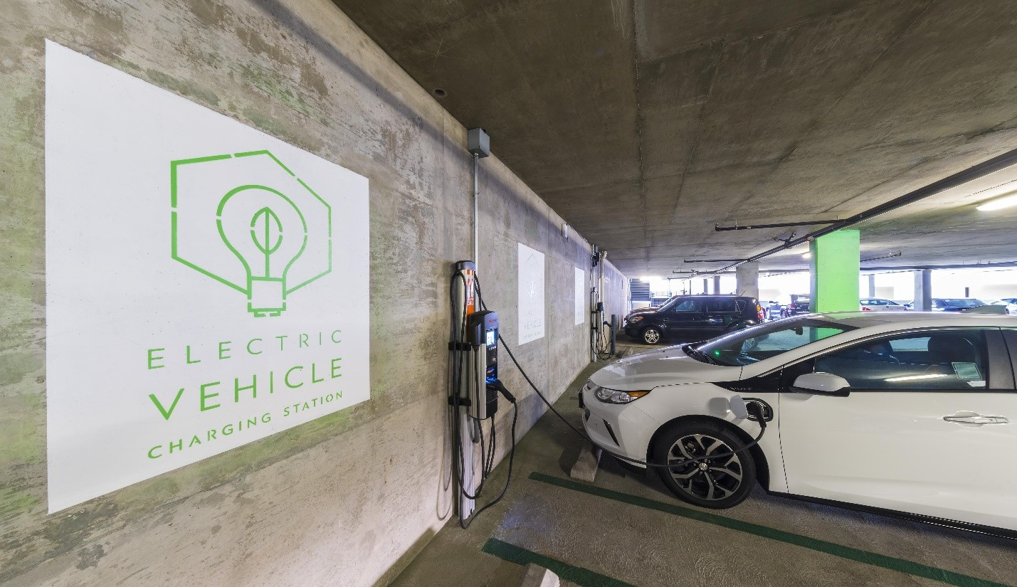 Taking Charge: Electric Vehicle Charging Stations and Land Use